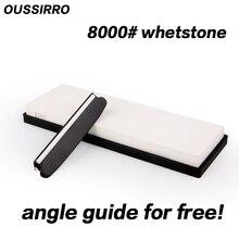 OUSSIRRO 8000 grit super feinschliff schleifstein messer stein messerschärfer werkzeuge schärfen für messer winkel führung kostenlos