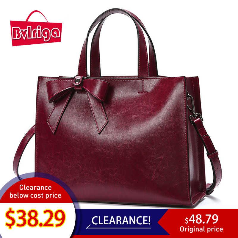 6013bc023bf64 Bvlriga кожаная сумка женская натуральная кожа сумки женские через плечо  большие кожаные сумки женщины сумку женскую