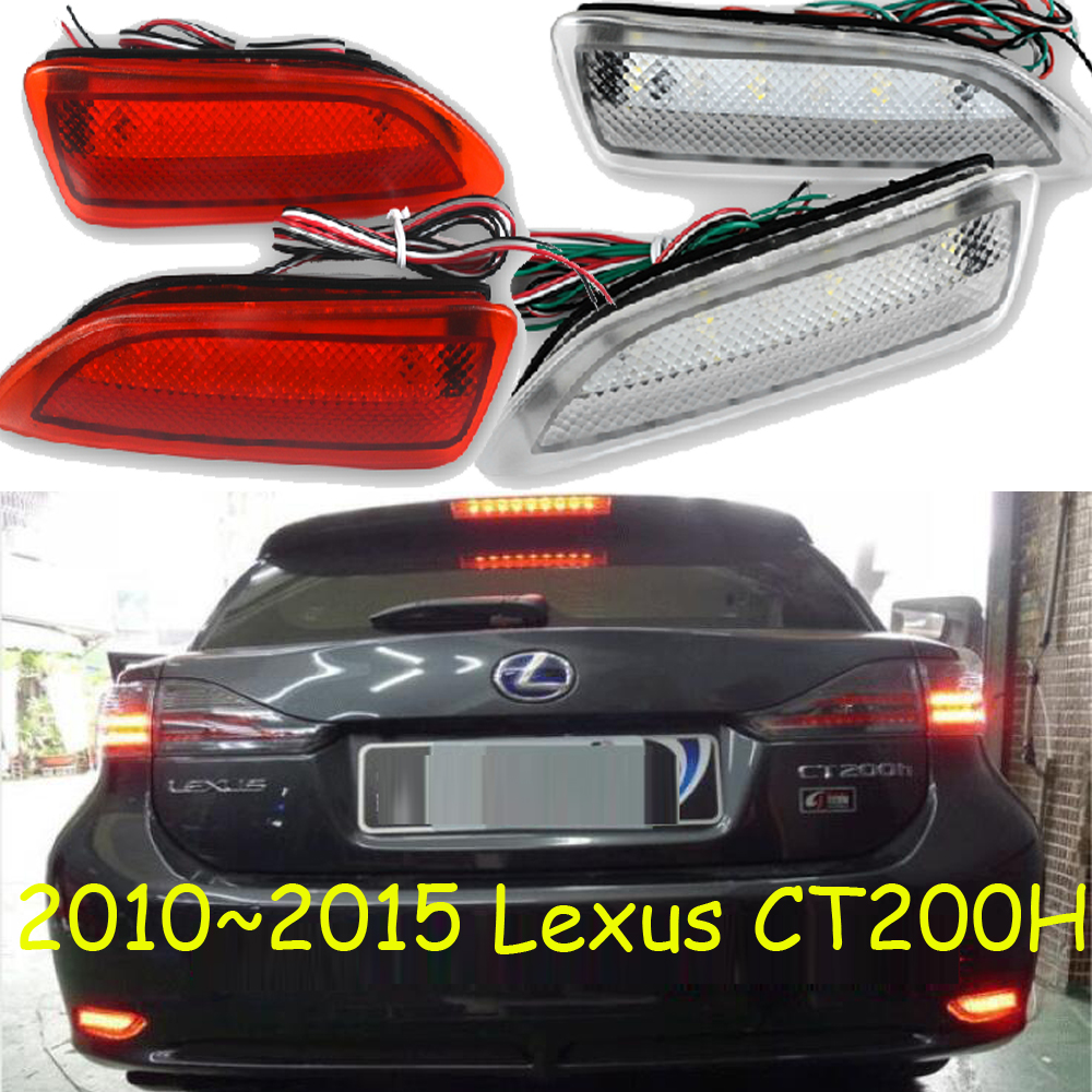 Lexu CT200 breaking light,2010~2015,Free ship!LED,CT200 rear light,LED,2pcs/set,CT200 taillight;IS250 IS300 IS350 ct