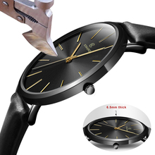 Fashion KEMANQI Watches 6.5mm Ultra-thin Mens Watch 2019 Simple Busine