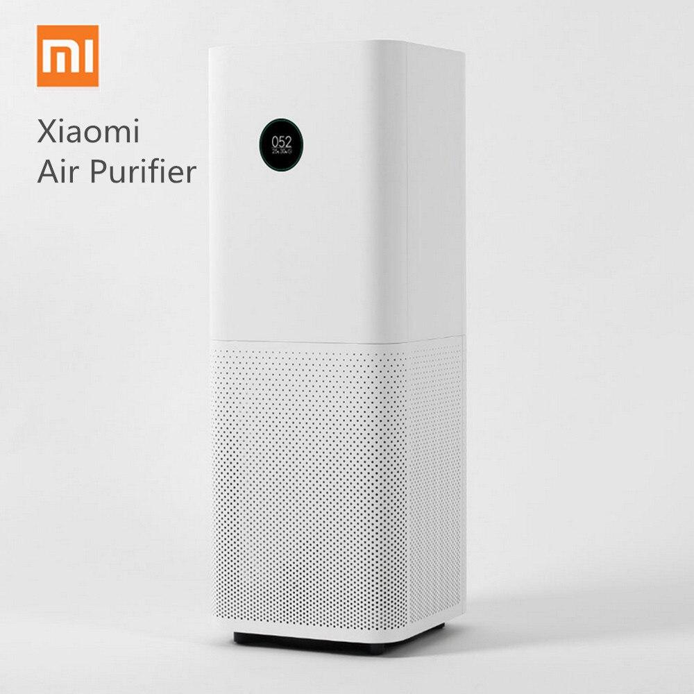 Оригинальный Xiaomi умная воздухоочистительная система Pro OLED экран беспроводной приложение управление дома очистки воздуха очиститель ing бы...