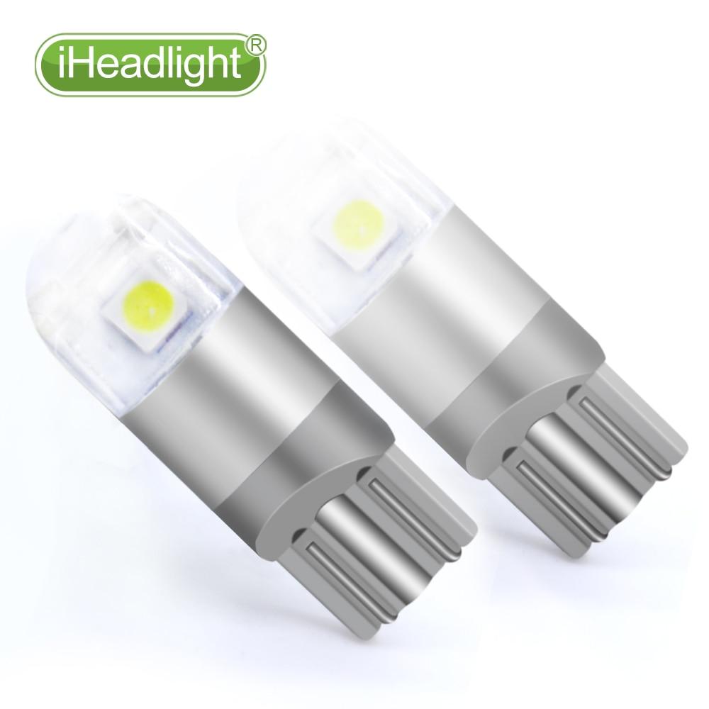 2pcs T10 LED 12v Car Turn Sinyal bilik lampu kereta membaca lampu - Lampu kereta - Foto 5