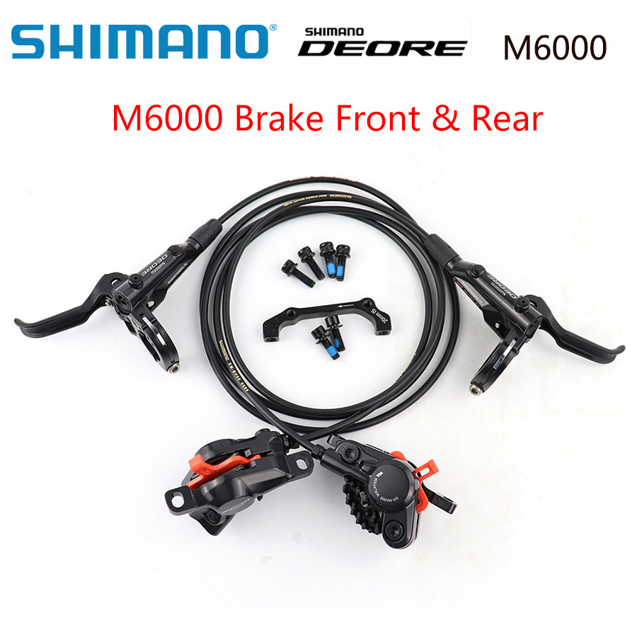 Shimano DEORE BR M6000 Brake MTB Brakes BL-M6000 1000//1700 Left /& Right DH