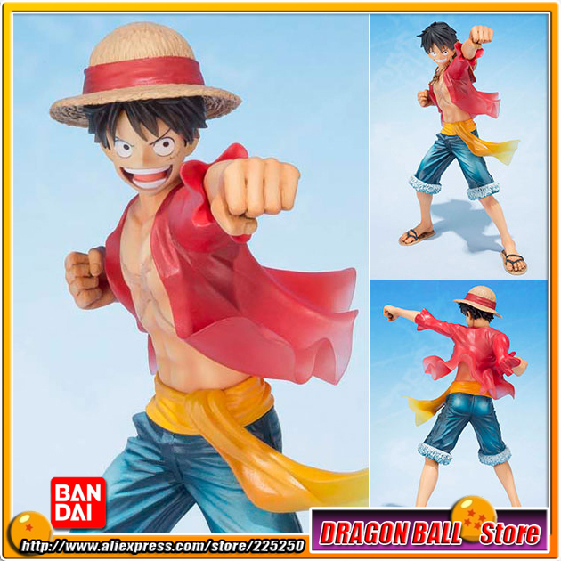 Japan Anime ONE PIECE (100% Original BANDAI) Tamashii Nations Figuarts Zero Figure - Monkey D. Luffy (5th Anniversary Edition) japan anime one piece 100% original bandai tamashii nations figuarts zero figure violet