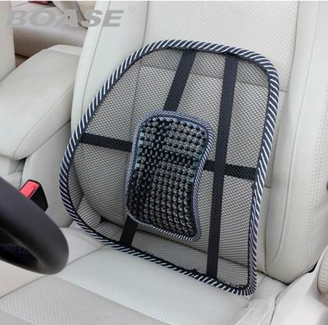 Office Chair Seat Covers Mesh Mage Back Support Car Pad Cushion Lumbar Pillow