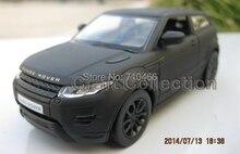 Matte black car modello per rover 1:36 evoque lega modello di auto modellini auto in miniatura modello giocattoli per bambini regali caldi