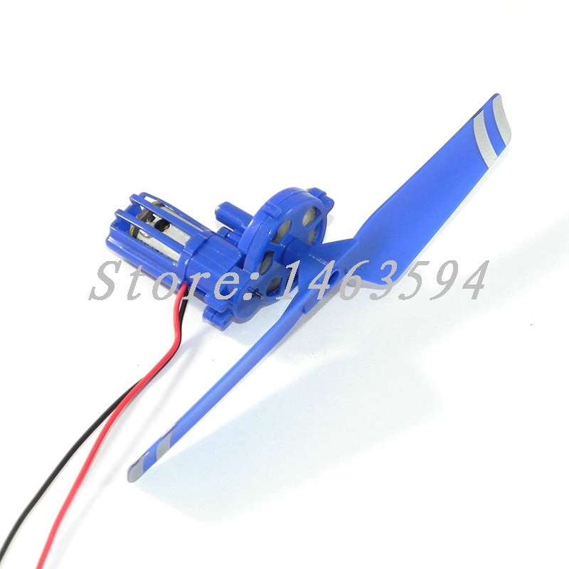 Free Shipping WLtoys <font><b>WL</b></font> V915 RC Helicopter spare parts Tail motor <font><b>engine</b></font> + tail motor case+ tail rotor blade image