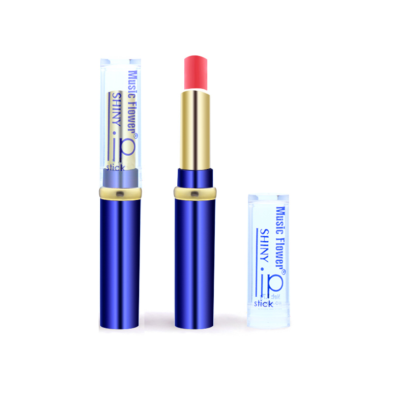 Music Flower 12 Colors to Choose Sexy Rose red Lip Gloss Matte lipstick Fashion Women Makeup Waterproof Cosmetics lips lipstick 5