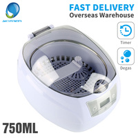 SKYMEN Digital 750ml Ultrasonic Cleaner with Timer Cleaning Jewelry Dental Glasses Watch Manicure Tools Cutters Nail Cleaner
