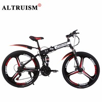 Altruism X9 Pro 26 Inch 24 Speed Bicycle Fiets Aluminum Downhill Mountain Bikes Double Disc Brake