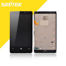 For Nokia Lumia 920 LCD Display Panel Touch Screen Digitizer with Frame Full Assembly High Quality Replacement Parts