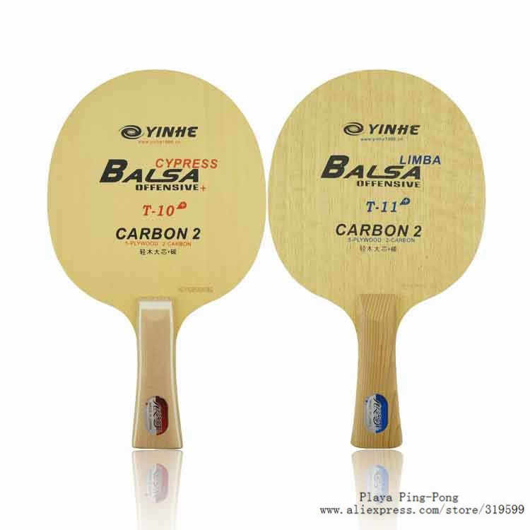 Yinhe Uranus T-10 T-11 (T 10 T 11 T10 T11 Cypress arylate-Carbon OFF Table Tennis Blade for PingPong Racket