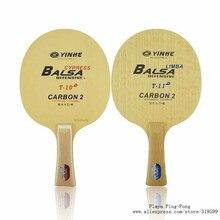 Yinhe Uranus T10 T11 cyprès arylate carbone hors lame de Tennis de Table pour raquette de ping pong