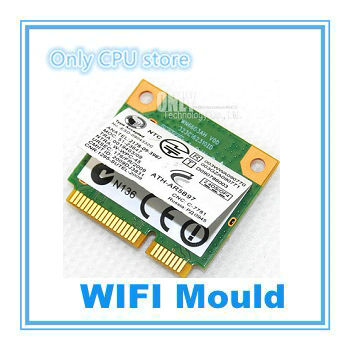 Wireless Adapter Card for Atheros AR5B97 802.11b//g//n PCI-E Half Size Network AR9287 300Mbps WiFi Mini PCIe WLAN for dell asus