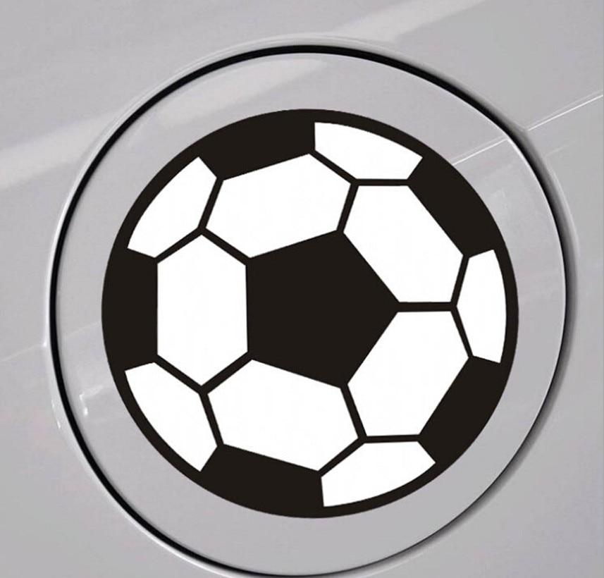 2018 World Cup Auto Football Sticker For Cadillac CT6 XT5 ATS-L XTS SRX CTS STS ATS ESCALADE CTS EMBLEM Accessories