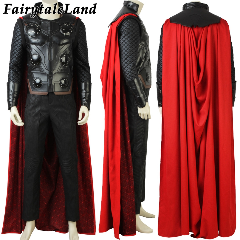 Avengers Infinity War Thor Cosplay Costume Carnival Halloween costumes Superhero Thor Costume Cosplay Avengers 3 suit