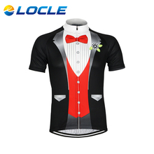 LOCLE Hot Sale Men Bike Bicycle Short Sleeves Jersey For Outdoor Sports MTB Jersey Shirts Cycling Jersey 3 Colors