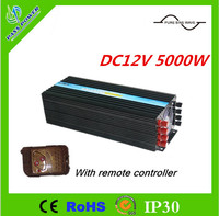 Pure Sine Wave DC12V 5000W Power Inverter with Remote Controller