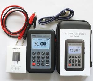 Image 2 - LB06 Hart Current voltage 4 20mA 0 10V/mV Signal Generator Source thermocouple PT100 temperature Process calibrator Tester