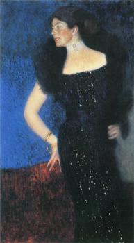 Handmade oil painting reproduction Portrait of Rose von Rosthorn-Friedmann by Gustav Klimt