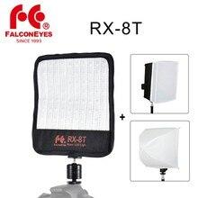 Falcon Eyes RX 8T 18 W Tragbare LED Foto Video Licht 90 stücke Wasserdichte Flexible Rollbar Tuch Lampe mit Diffusor