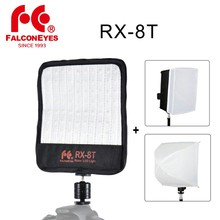 Falcon Eyes RX 8T 18W Portable LED Photo Video Light 90pcs Waterproof Flexible Rollable Cloth Lamp with Diffuser