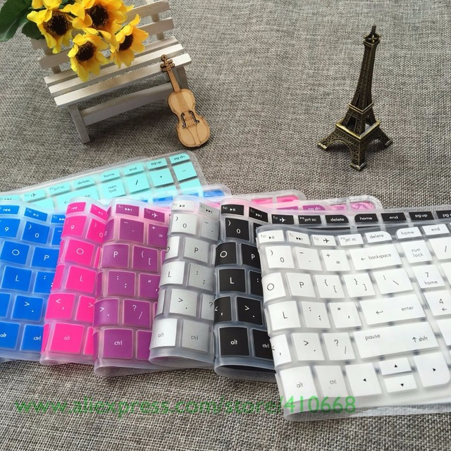 15.6 17.3 inch Silicone laptop keyboard cover protector For HP Pavilion Envy 15 17 15-au035na 15-as001na as001na 17-y002na