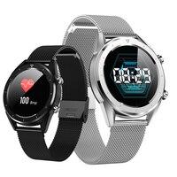 DT28 IP68 Waterproof Watch Men Smart Watch ECG Heart Rate Monitor Fitness Tracker Wristband Smart Band Sport Wristwatch mi watch