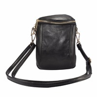 2018 Universal Fashion Women S Double Pockets Bag Zipper Pouch Phone Cases For IPhone 4s 5