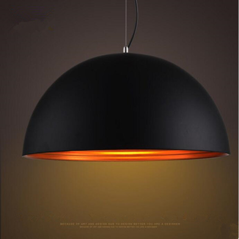 Modern pendant light LED Aluminum black lamp inside gold for restaurant bar coffee dining room hanging LED light fixtureModern pendant light LED Aluminum black lamp inside gold for restaurant bar coffee dining room hanging LED light fixture