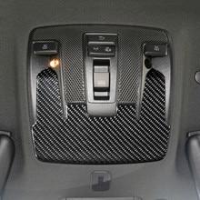 Световая панель для чтения на крыше автомобиля из углеродного волокна, декоративная наклейка для Mercedes Benz CLA C117 GLA X156 A Class W176 2013-18