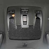 Carbon Fiber Auto Dach Lesen Licht Panel Dekoration Aufkleber Trim Für Mercedes Benz CLA C117 GLA X156 EINE Klasse W176 2013-18