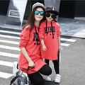 Family Matching Hoodies Dress Mother Daughter Autumn Dresses Mom and Daughter Dress Clothes Family Clothing Family Set LK02