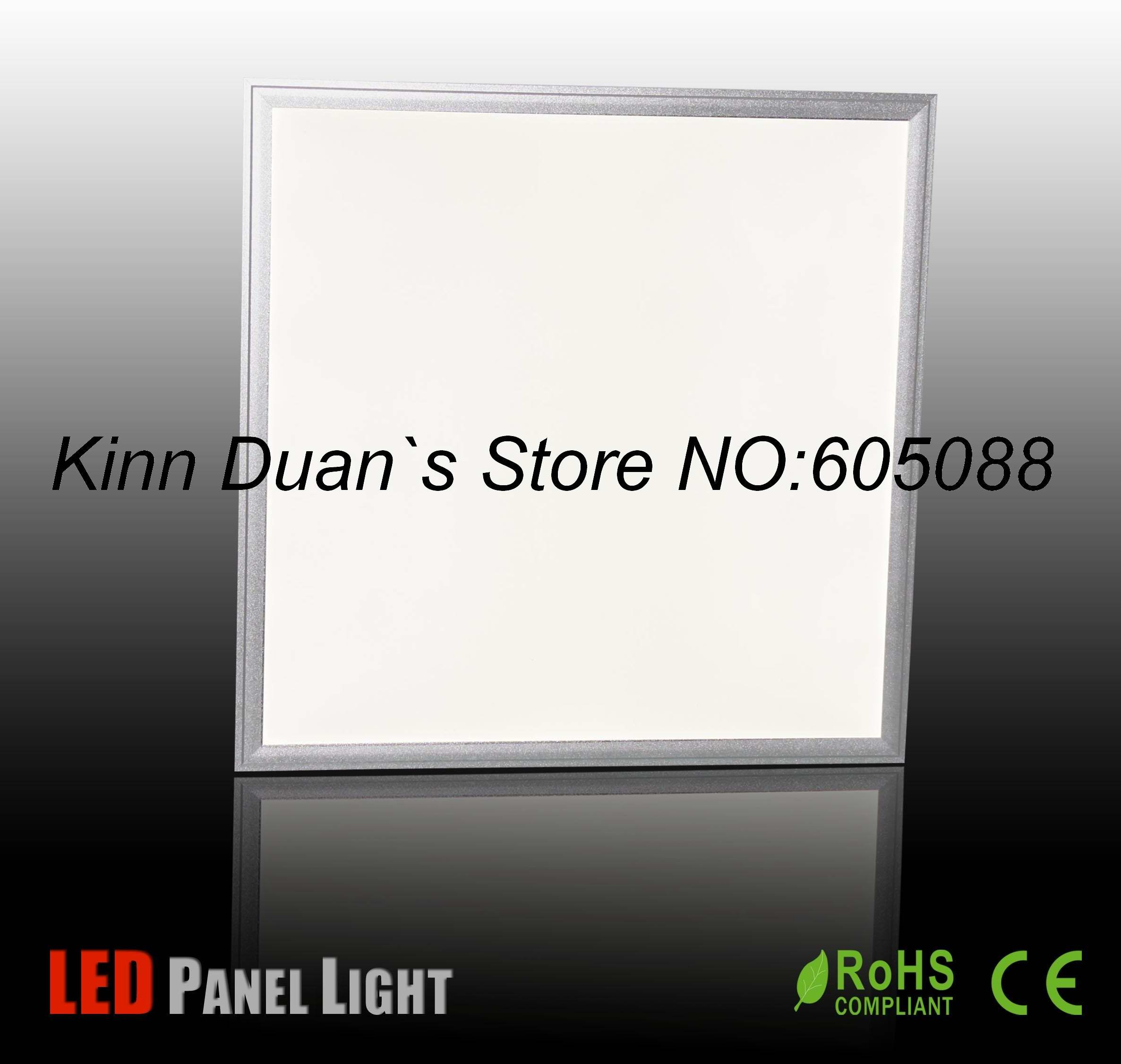 39w ceiling embeded commercial led lamp AC100-240v led panel lighting 600x600mm 2500lm CE&ROHS 2pcs/lot wholesale and retail