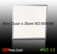 39w ceiling embeded commercial led lamp AC100 240v led panel lighting 600x600mm 2500lm CE&ROHS 2pcs/lot wholesale and retail