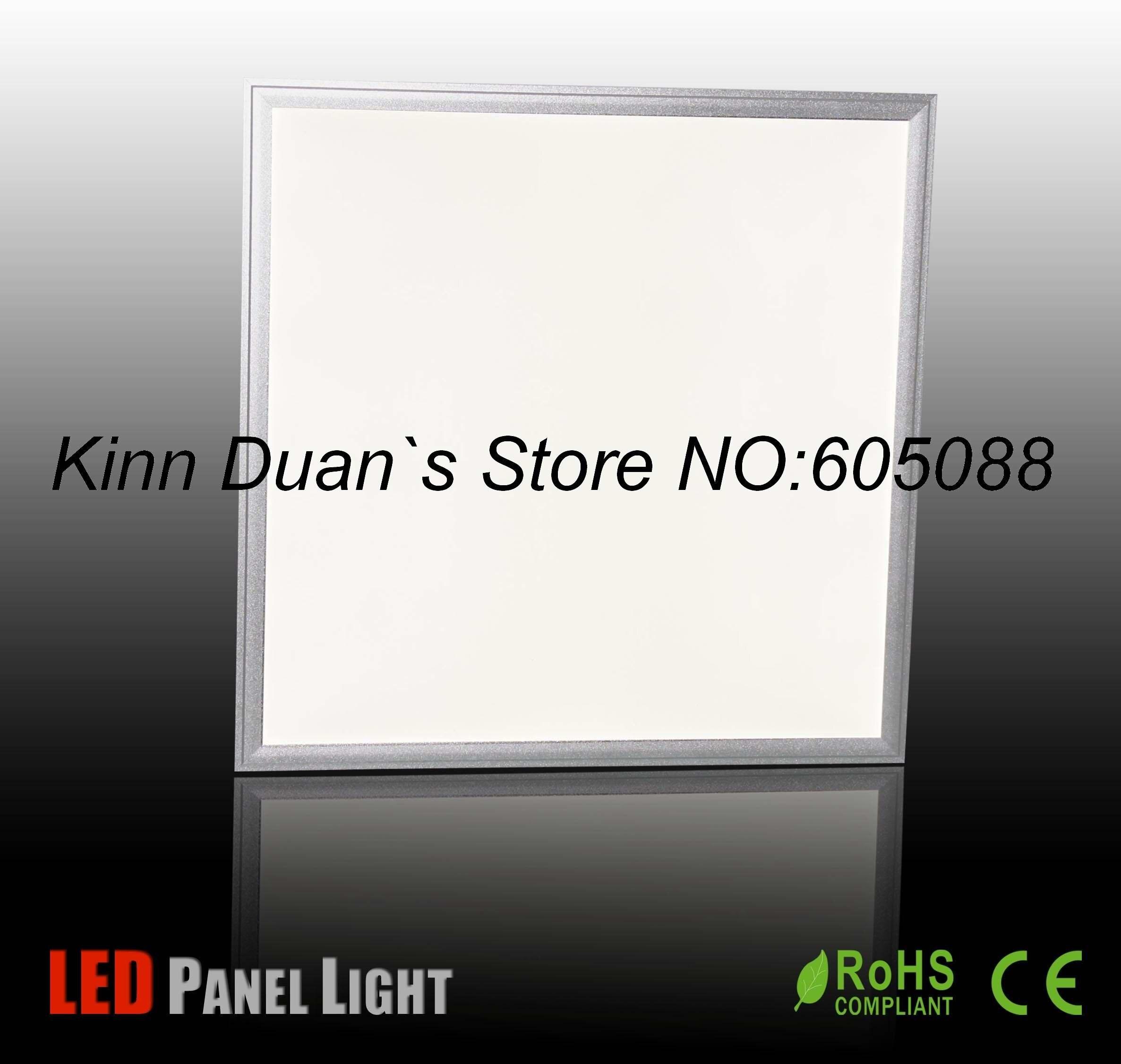 Le lampe à led commercial intégré par plafond de 39 w AC100-240v a mené l'éclairage de panneau 600x600mm 2500lm CE et ROHS 2 pcs/lot en gros et au détail