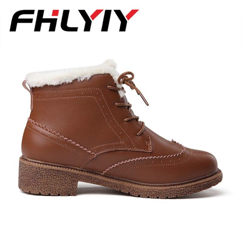 Et De Peluche brown Casual Dames Bottes Printemps Neige En Plat Mujer Sneakers Dentelle Femmes Automne Black Fhlyiy Occasionnels Zapatos c3lFKu5T1J