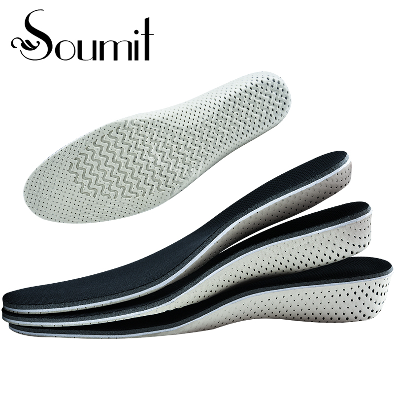 Insole Heel Lift Insert Shoe Pad Height Increase Cushion Elevator Taller YL