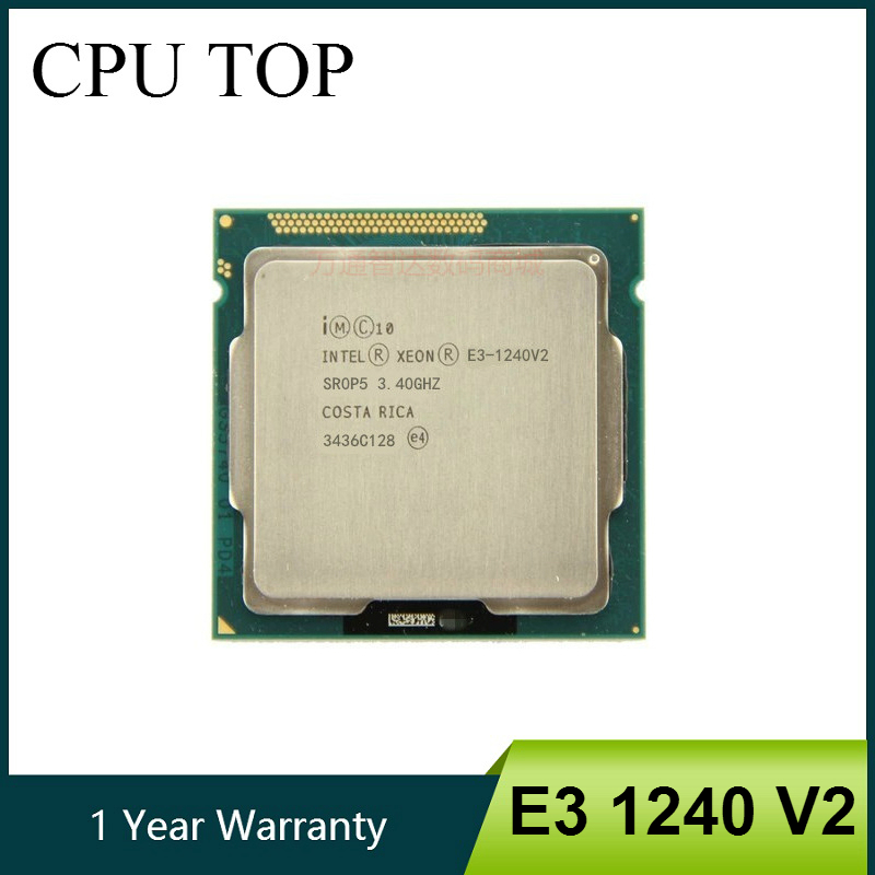 Intel Xeon E3-1240 E3 1240 3.3 GHz Quad-Core CPU Processor 8M 80W LGA 1155