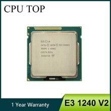 Processador intel, intel xeon E3 1240 v2 8m cache 3.40 ghz sr0p5 lga1155 e3 1240 v2 cpu