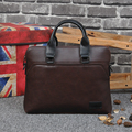 Vintage Men's Leather Handbags Leather Briefcase for Men Laptop Briefcase Shoulder Bags Casual Crossbody Bags Maletin 6378