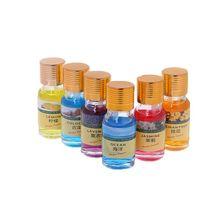 6 аромат 10 мл автомобиля духи заправка для освежителя воздуха автомобилей Крытый Запах Remover для жидкости эфирные масла