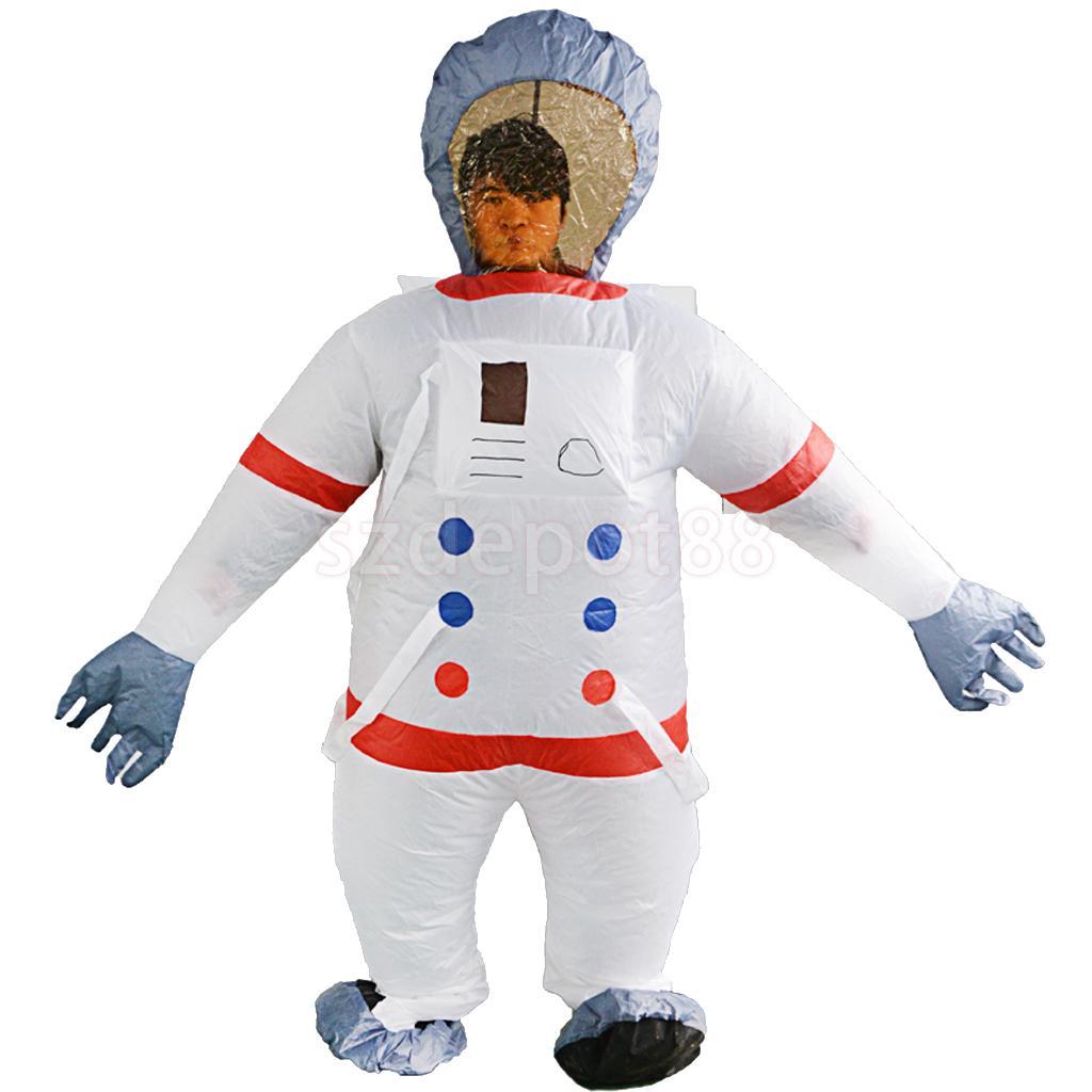 Adult Astronaut Costume Inflatable Body Costume Unisex ...