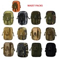 2016 Waist Bag Hanger Cell Phone Bags Mobile Phone Waterproof Bags Man and Women Oxford Waist packs BL064