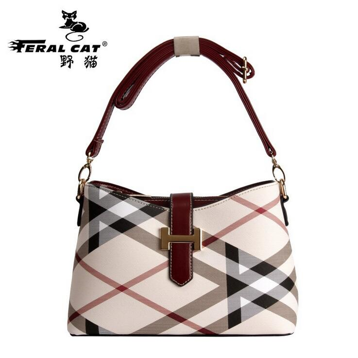 FERAL CAT Brand Fashion Casual Women Bag 2017 Classic PVC Ladies Top-handle Bag Single Shoulder Bag Vintage Mother Crossbody Bag feral cat ladies hand bags pvc crossbody bags for women single trapeze shoulder bag dames tassen handbag bolso mujer handtassen