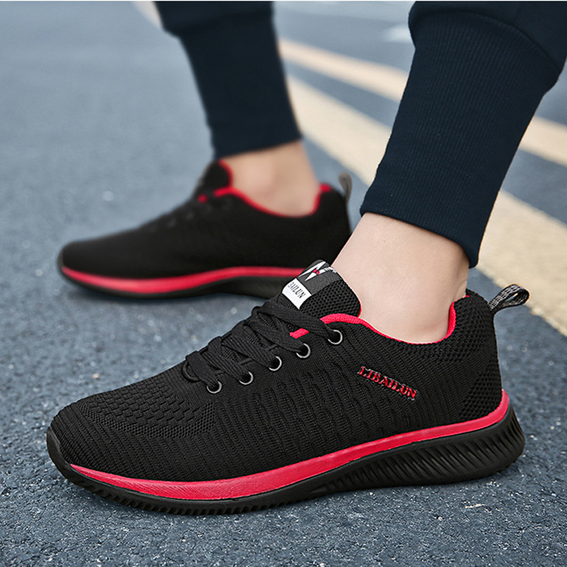 2019 Spring men sneakers mesh breathable casual shoes man vulcanized shoes Male comfortable walking shoes size 38 - 452019 Spring men sneakers mesh breathable casual shoes man vulcanized shoes Male comfortable walking shoes size 38 - 45