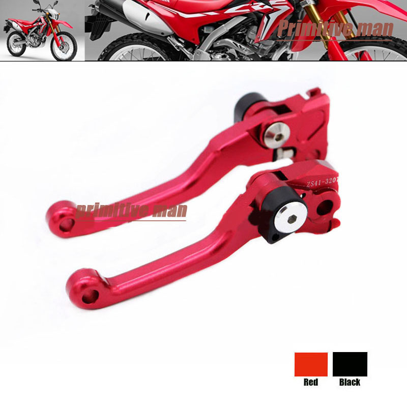 For HONDA CRF 250R 07-12 450R 07-15 Motorcycle dirt bike CNC Pivot Brake Clutch Levers Red