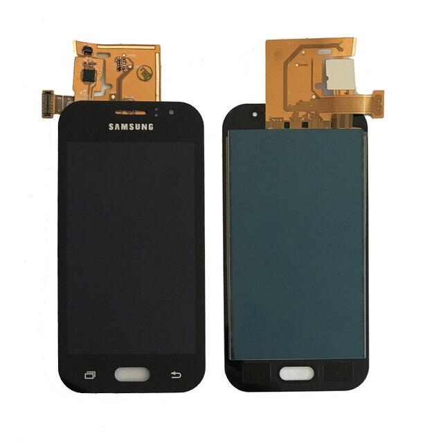 100% test Pour Samsung Galaxy J1 Ace J110 SM-J110F J110H J110FM Écran lcd Avec Écran Tactile Digitizer Assemblée Peut pas ajuster