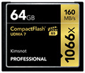 Kimsnot Professional 1066x CF Card 32GB 64GB 128GB CompactFlash Card CompactFlash Memory Card High Speed Up to 160MB/s UDMA 7