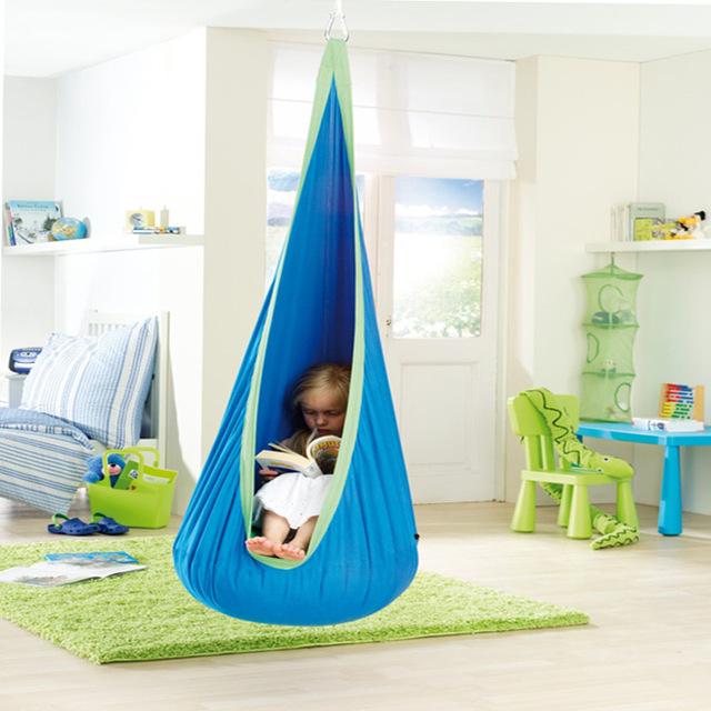 2016 Venda quente do bebê brinquedo pod Hammock Balanço Cadeira de Leitura Nook tenda Interior Ao Ar Livre Rede Cadeira do balanço do bebê da criança do bebê Cadeira relaxante